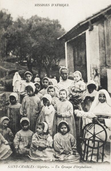 A French Mission to Africa (Saint Charles) - nuns running a home for orphans in Algeria