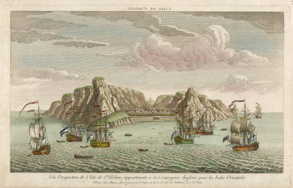 'Perspective View of the Island of Saint Helena, belonging to the English East India Company&#39