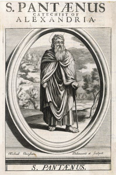 SAINT PANTAENUS Stoic philosopher who converted to Christianity and became a catechist at Alexandria