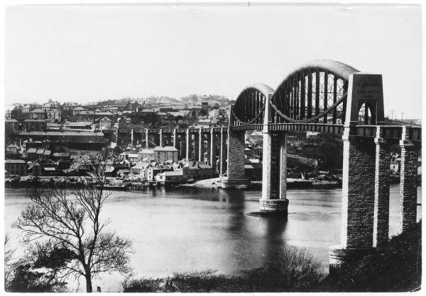 Royal Albert Bridge, River Tamar, Saltash, Corwall