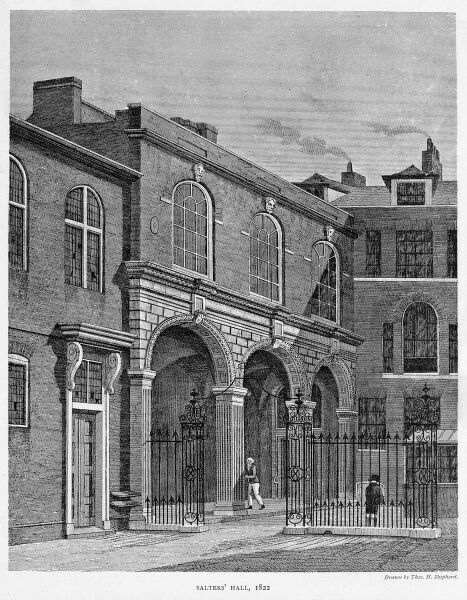 Salter's Hall, Fore Street