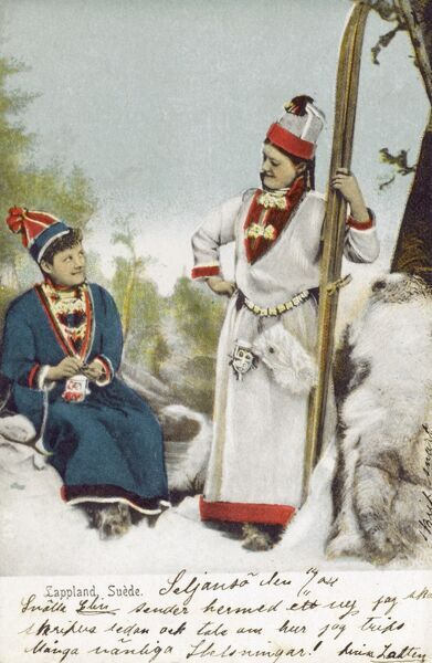Sami People - Sweden Date: circa 1910s