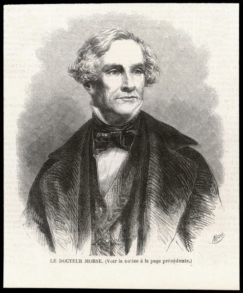 SAMUEL MORSE American artist and inventor