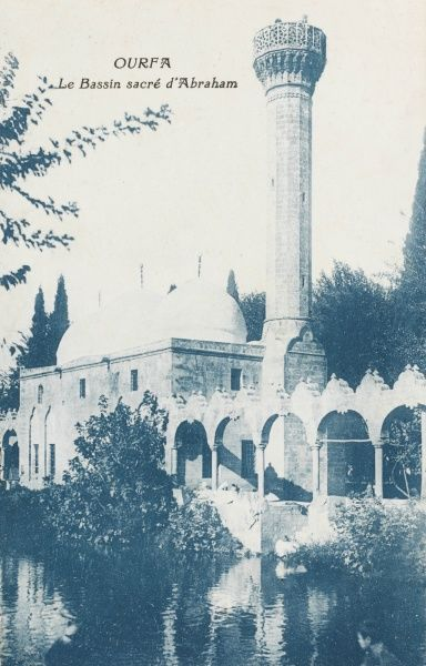 Mosque at Sanliurfa (often simply known as Urfa in daily language), formerly cited as Edessa in in Aramaic, Riha in Kurdish, and Urhay in Armenian) is a city in south-eastern Turkey, and the capital of Sanliurfa Province