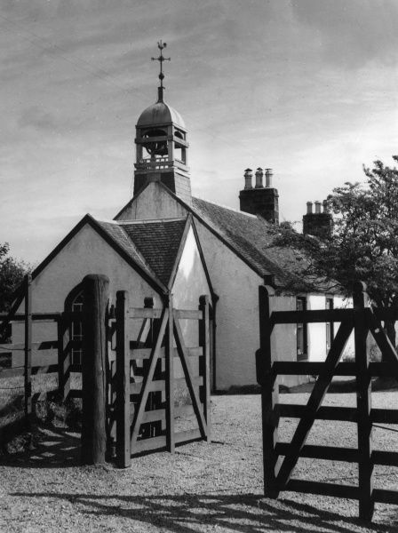 The tiny Sannox Church, at the foot of Glen Sannox, Isle of Arran, Buteshire, Scotland. Date: 1960s photo