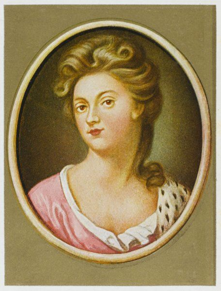 SARAH, duchess of MARLBOROUGH, wife of John Churchill, first duke Influential at the court of Queen Anne