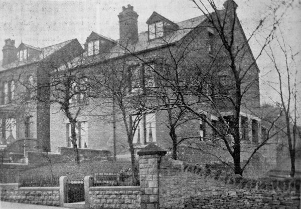Scattered homes run by the Sheffield Poor Law Union to house groups of pauper children away from the workhouse. Date: 1905