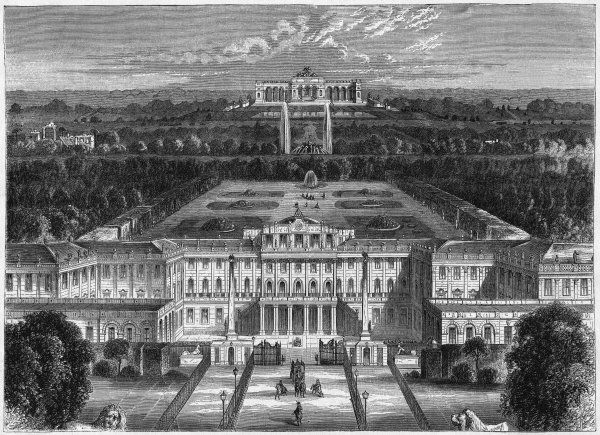 The royal palace of Schonbrunn
