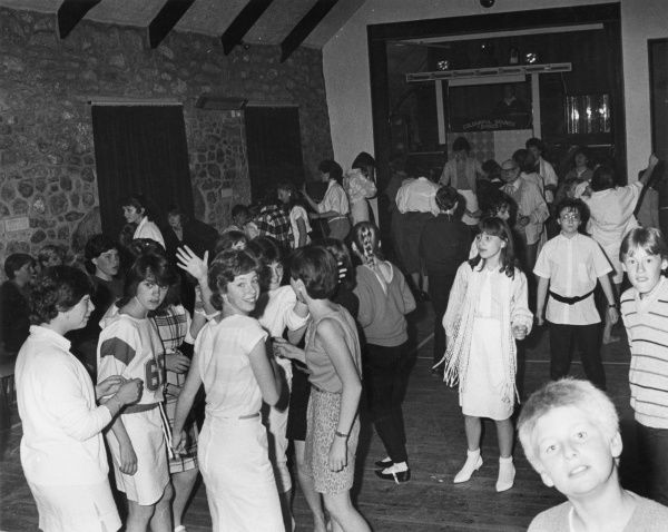 Remember school discos, when all the boys looked lost and girls wore white stilettos with ankle socks?