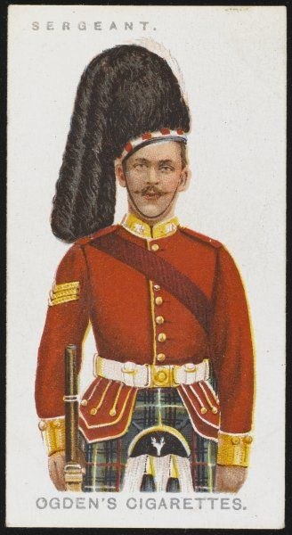 A Sergeant from the Seaforth Highlanders. (Ross-shire Buffs, the Duke of Albany's)
