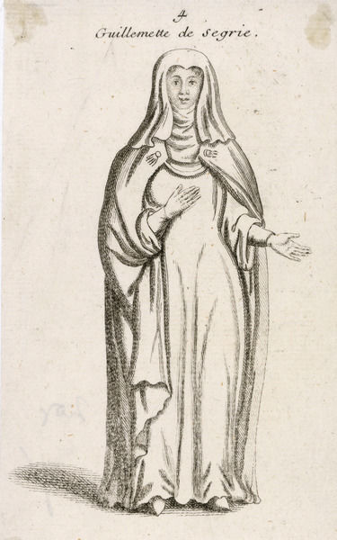 GUILLEMETTE DE SEGRIE Wife of Robert de Dreux- Beaussart, a baron from Esneval. She became known as a visionary