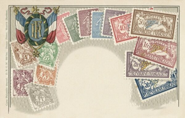 Selection of French Stamps
