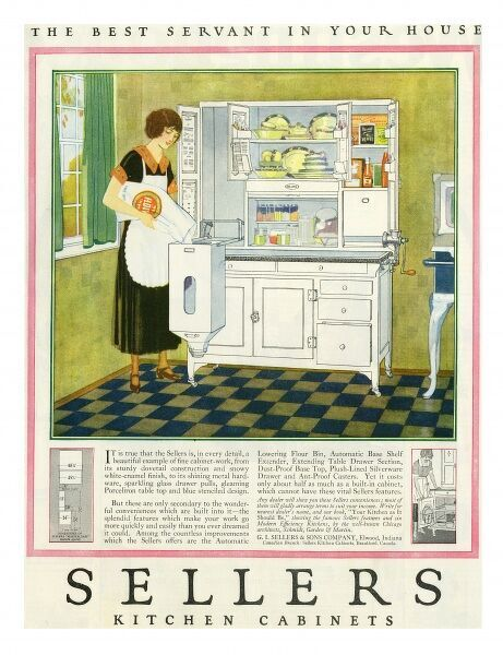 Sellers Kitchen Cabinets Date: 1923