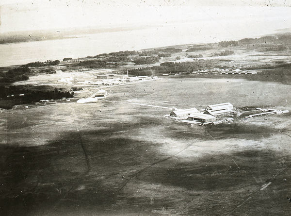 General view of Aerodrome, September 1922