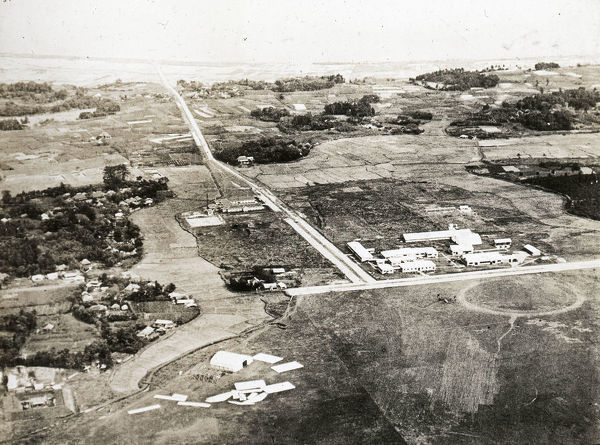 View of main Offices from North - Imperial Japanese Navy Air Station Kasumi-ga-ura