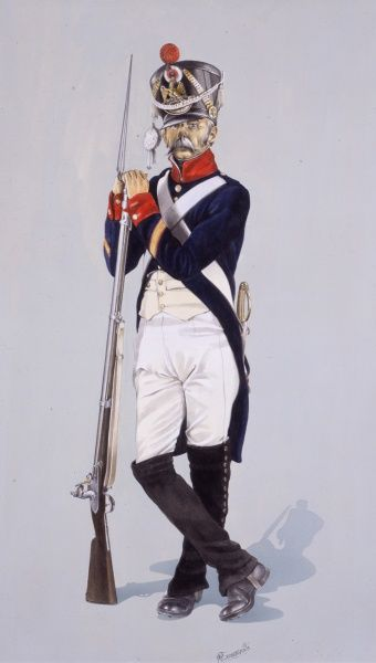 Napoleonic War Line Infantry (French) - Sergeant of Fusiliers of the 54th Regiment