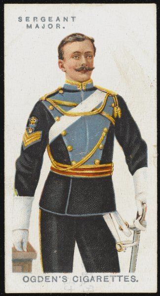 A Sergeant Major from the 21st Lancers (Empress of India's)