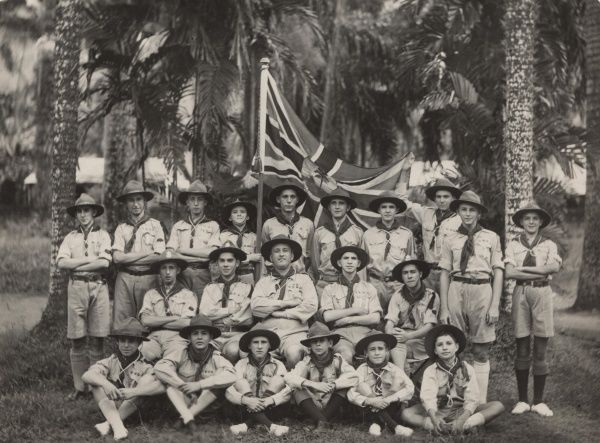 Seychelles Boy Scouts. September 1932