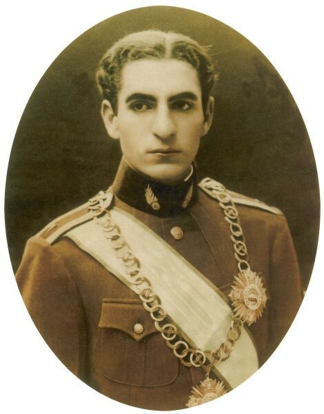 Mohammad Reza Shah Pahlavi, Shah of Iran, (1919 - 1980). Emperor of Iran from 16th September 1941, until his overthrow by the Iranian Revolution on 11th February 1979&quot
