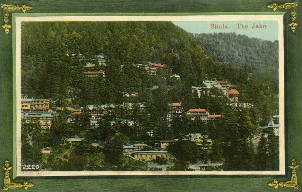 The Jako, Shimla, originally called Simla, the capital city of Himachal Pradesh. In 1864, Shimla was declared the summer capital of the British Raj in India