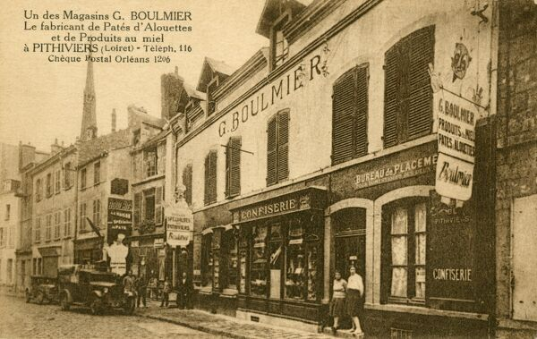 G. Boulmier - Seller of honey and Lark Pate - Pithiviers (Loiret), France
