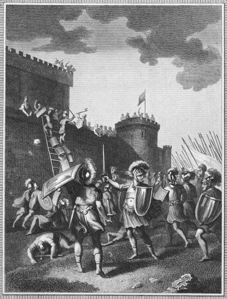 Jerusalem is besieged, taken and sacked by Titus (later emperor)