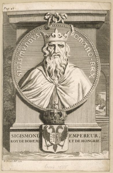 SIGISMUND - Holy Roman Emperor (1433-1437), King of Hungary, Margrave of Brandenburg, King of 'The Romans' and King of Bohemia