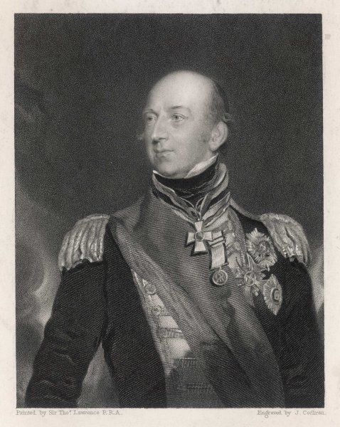 SIR EDWARD CODRINGTON British naval commander