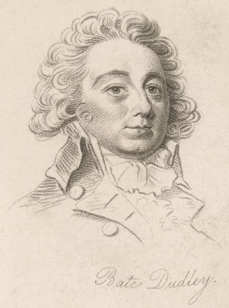 SIR HENRY BATE DUDLEY - English writer