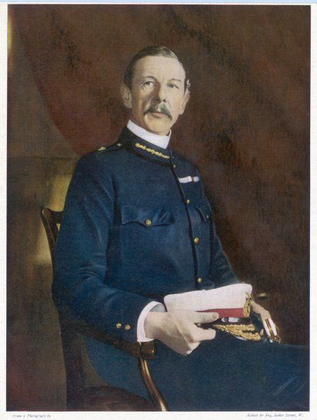 Sir HENRY EDWARD COLVILLE Military, and commissioner of Uganda when declared a British Protectorate in 1894