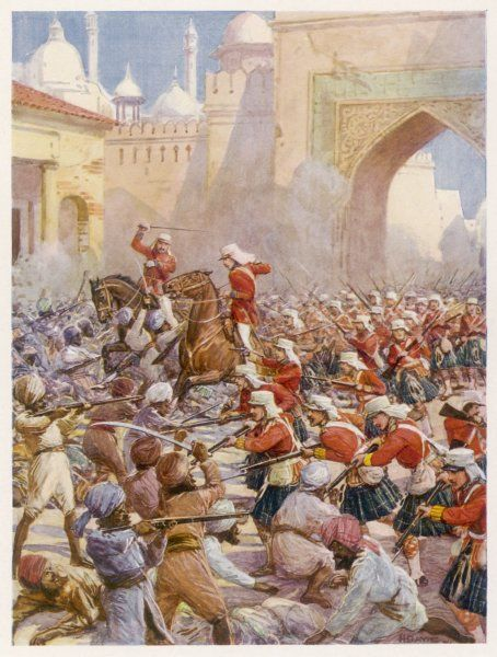 SIR HENRY HAVELOCK British soldier relieving Lucknow in 1857