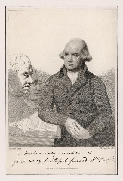 SIR HERBERT CROFT clergyman and literary figure, detained in France by Napoleon, wrote many and varied things, imprisoned for debt, dictionary compiler