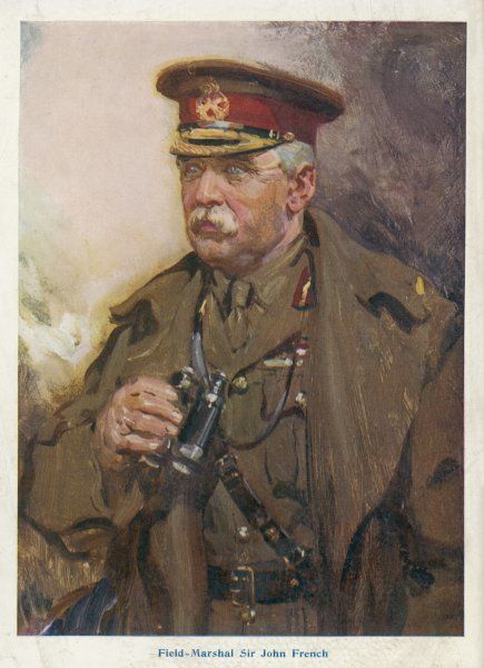 Sir JOHN DENTON FRENCH In 1914, when he was commander of the British forces on the Western Front