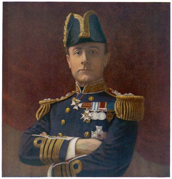 SIR JOHN RUSHWORTH JELLICOE 1st Earl Jellicoe Naval commander