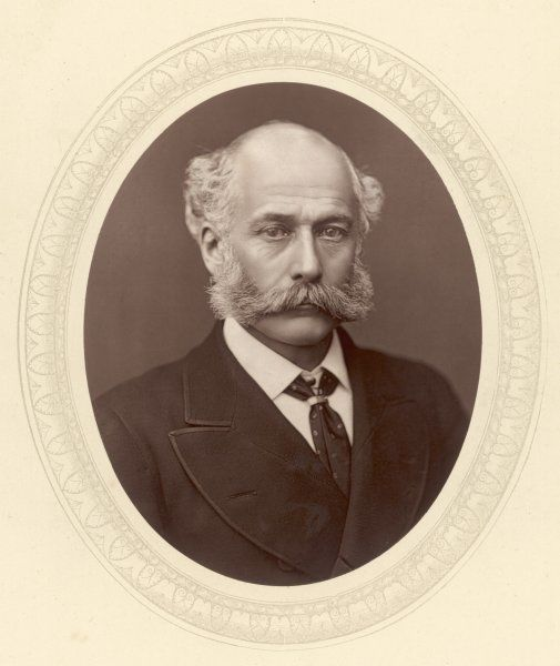 SIR JOSEPH WILLIAM BAZALGETTE English civil engineer