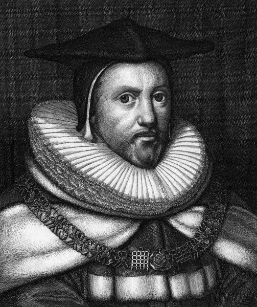 SIR ROBERT HEATH chief justice of England (A stunning example of the etcher's art - the workmanship on his ruff is amazing !) Date: 1575 - 1649