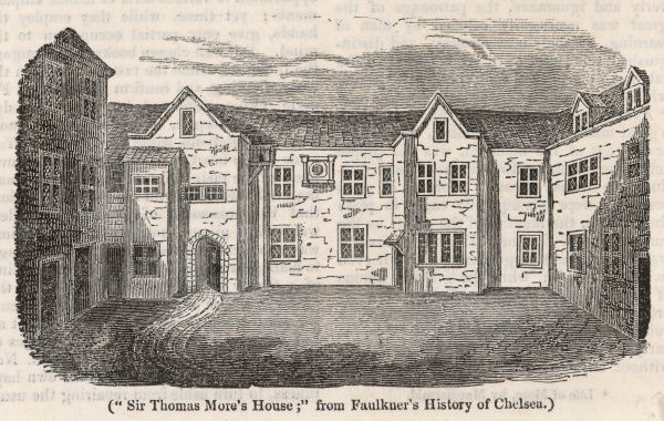 SIR THOMAS MORE Chelsea home of the English statesman and author
