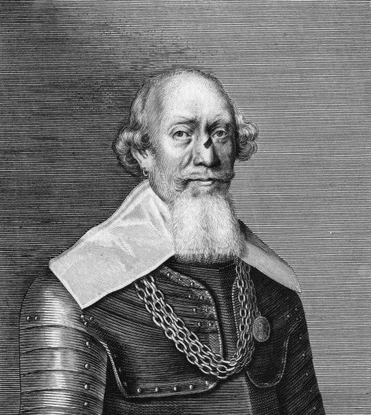 SIR WILLIAM BROG Scottish general in the Dutch service. Date: 1563 - 1635+