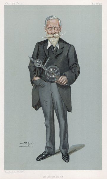 SIR WILLIAM CROOKES scientist