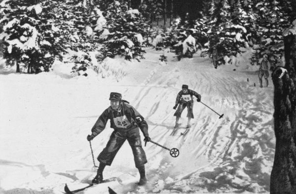 The SU Ski Championship in Tolz, Germany in 1932