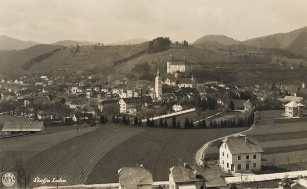 Skofja Loka - Slovenia. The town has experienced attacks, plagues, fire and earthquake. The worst of the earthquakes in 1511 badly damaged the town which was later rebuilt by prince-bishop Philip of Freising