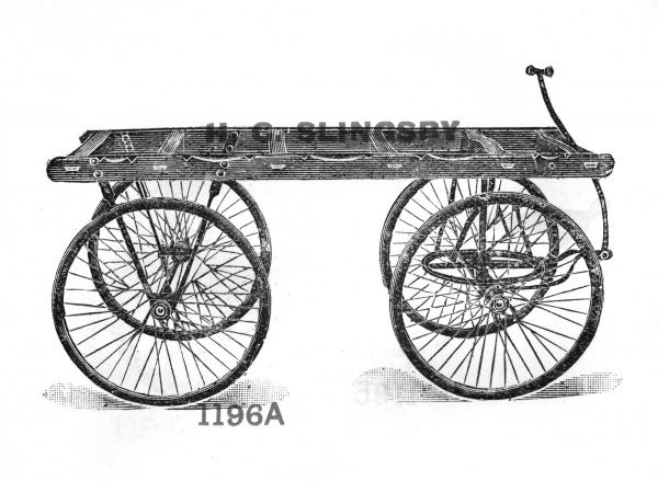 Undertakers' bier carriage (This is just one of 100s of trucks etc in this catalogue) Date: circa 1900
