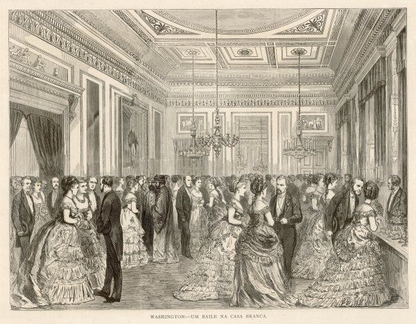 A reception at the White House