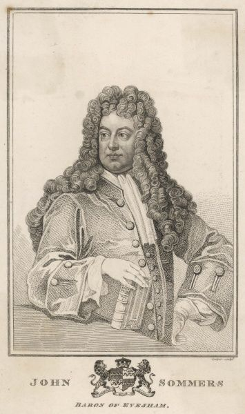 John, first lord SOMERS statesman, Lord Chancellor