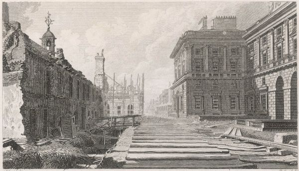 Rebuilding Somerset House at the end of the 18th century