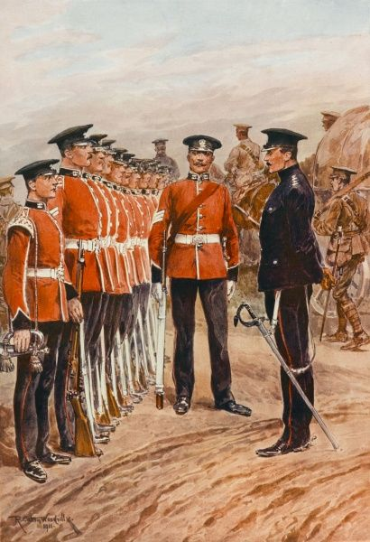 PRINCE ALBERT'S SOMERSETSHIRE LIGHT INFANTRY