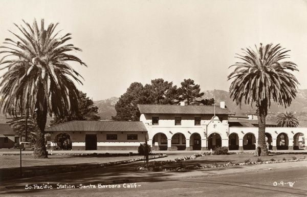 South Pacific railway station, Santa Barbara, California