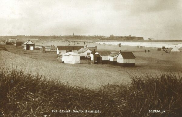 South Shields, Tyne and Wear - The Sands Date: circa 1930s