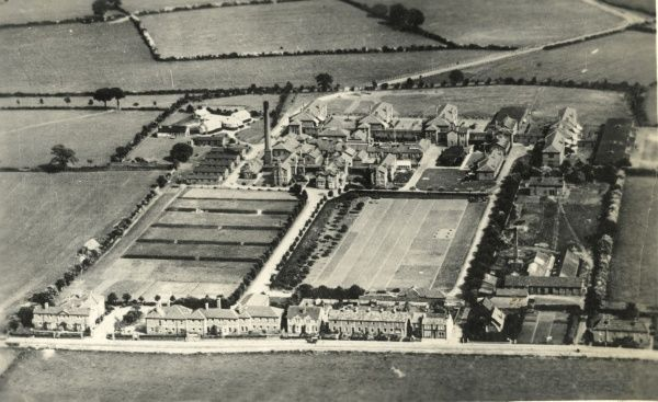 Aerial view of Southmead Hospital, Bristol