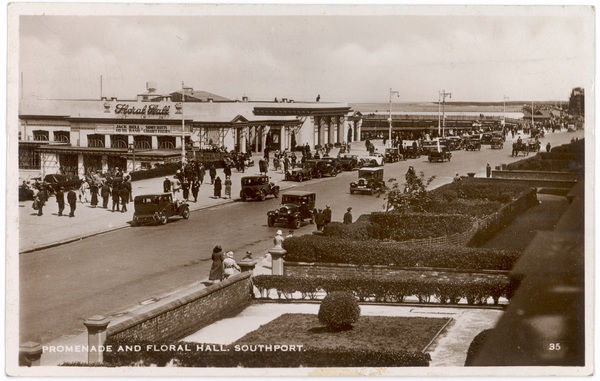 Southport, Lancashire: Promenade and Floral Hall